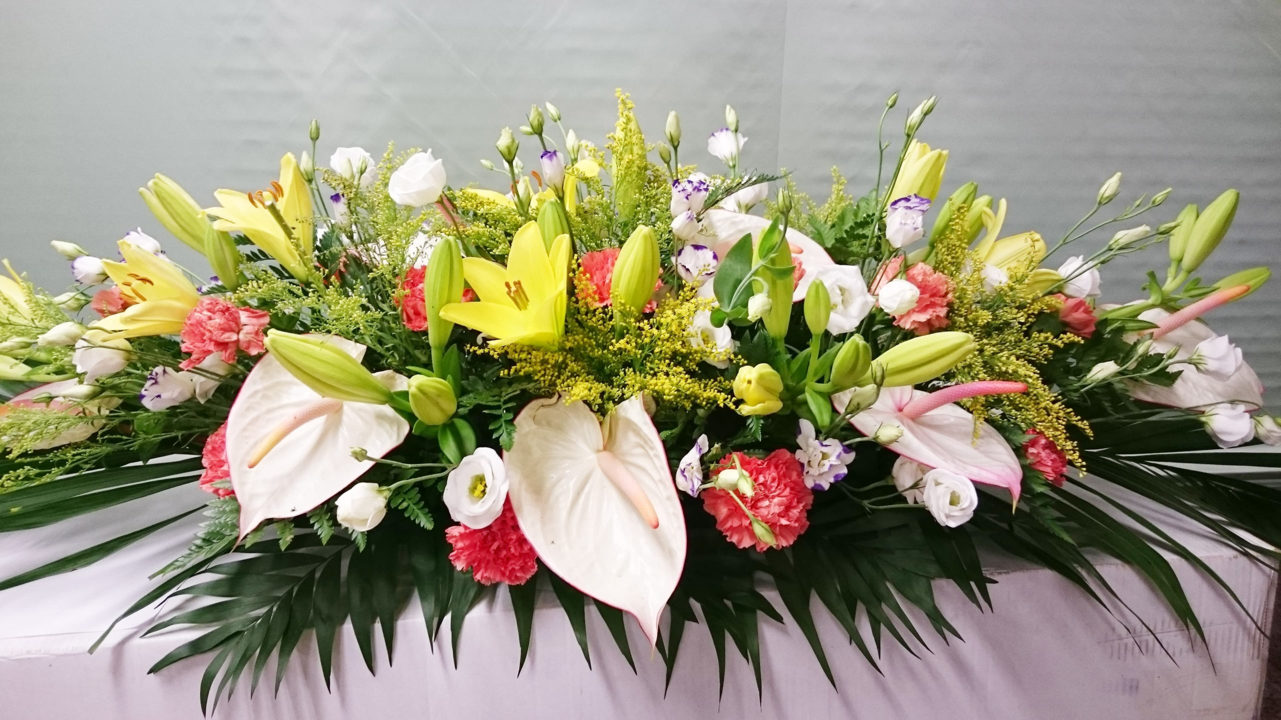 Arreglo floral Centro dos Esponjas